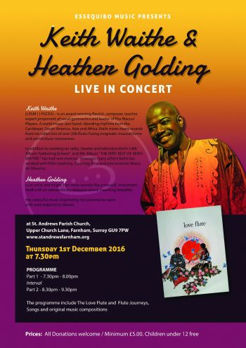 Keith Waithe and Heather Golding Concert